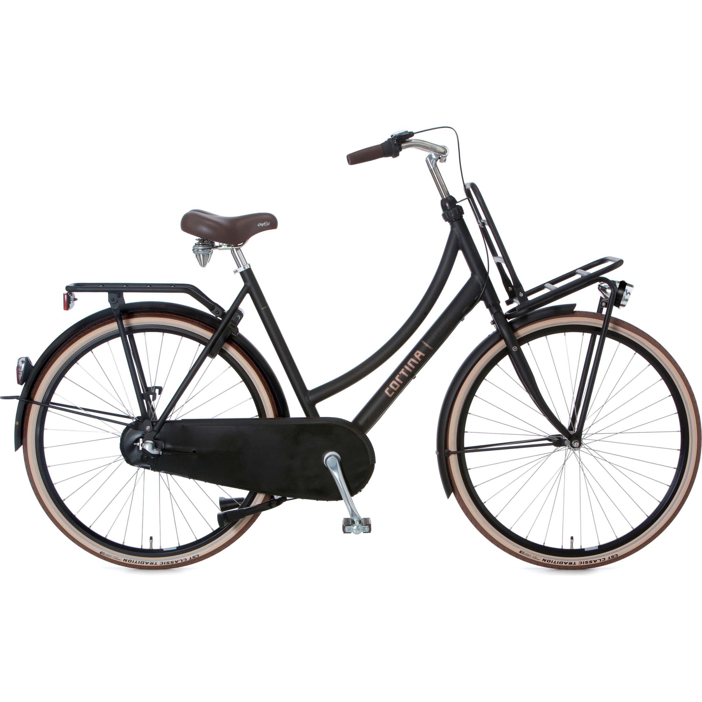 Hedendaags Nieuw binnen, Cortina U4, Wit, Transport fiets. – RB Fietsen NU-82